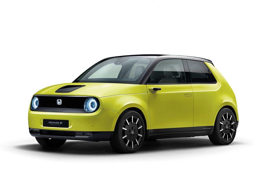 Honda reveals the powertrain for their 'Honda e' all-electric offering
