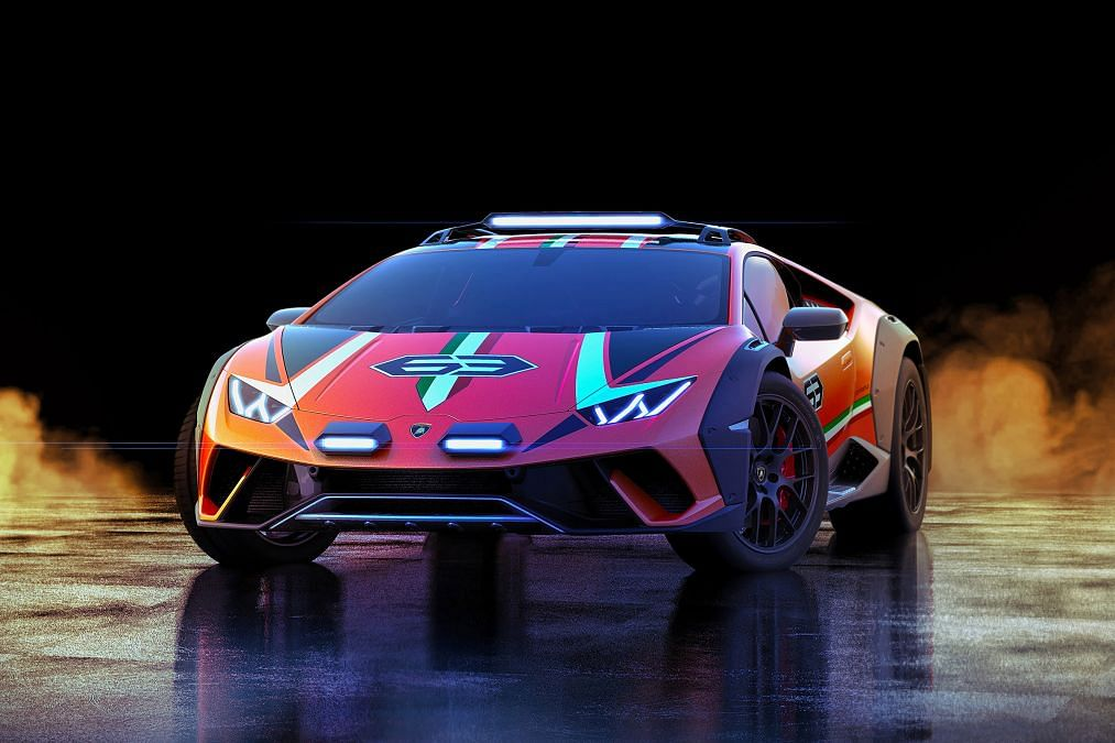 Lamborghini Huracán Sterrato Concept channels mid-engined rally cars of the past