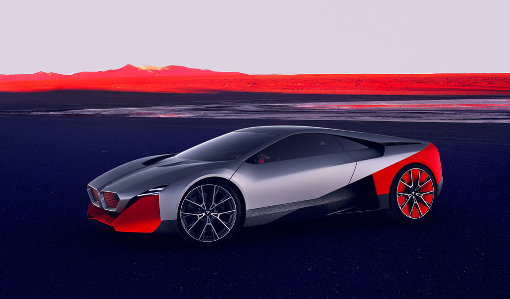 BMW unveil the Vision M Next, their interpretation of the future of driving