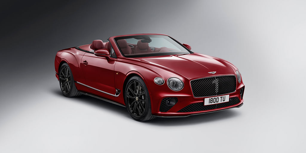 Bentley Motors introduce the Continental GT Convertible Number 1 Edition