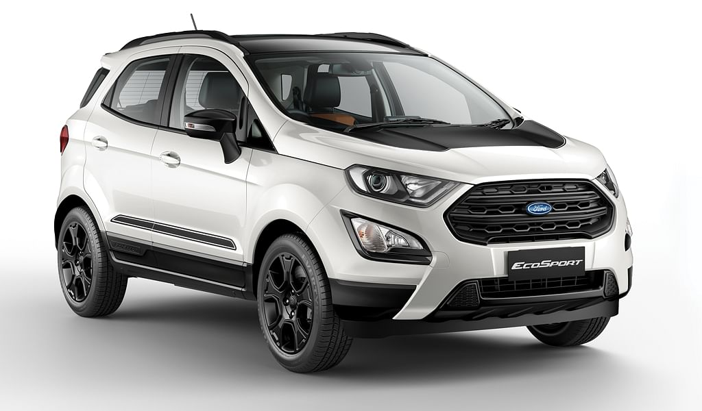 Ford EcoSport Thunder Edition unveiled, prices of entire range drops