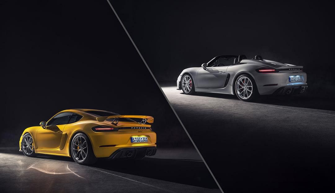 Porsche adds new Cayman GT4 and Spyder to the 718 family