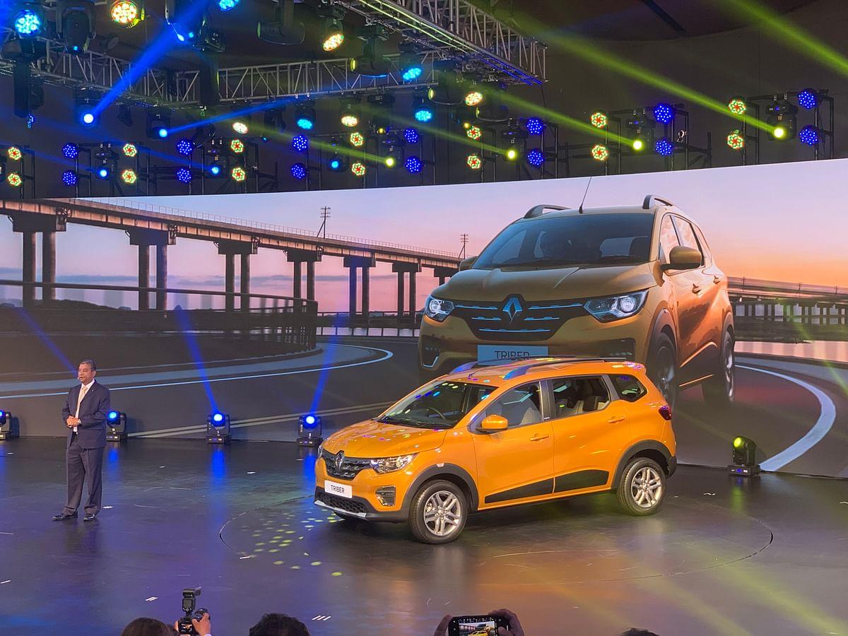 Renault unveils the Triber