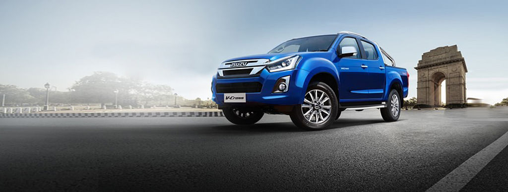 Isuzu has launched the Dmax V-cross facelift in India at Rs 15.51lakh