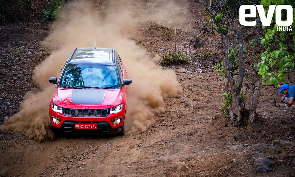 Bookings open for the Jeep Compass Trailhawk at Rs 50,000