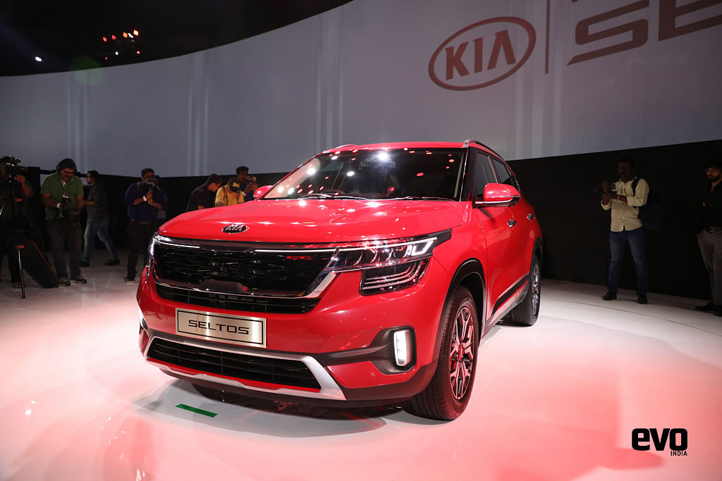 Kia Seltos globally unveiled in India