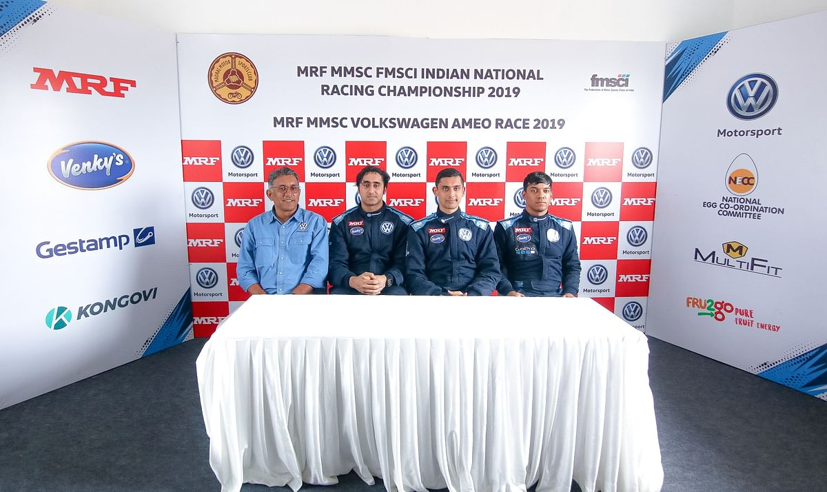 Jeet Jhabakh wins opening Volkswagen Ameo Class race in Coimbatore