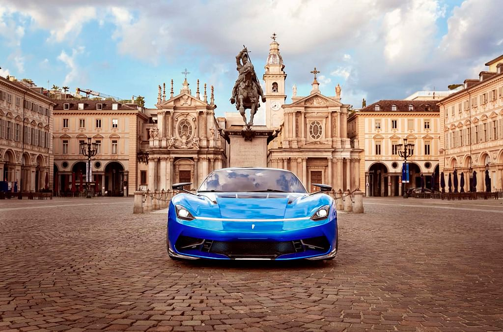 Automobili Pininfarina showcase the updated Pininfarina Battista at Turin Auto Show