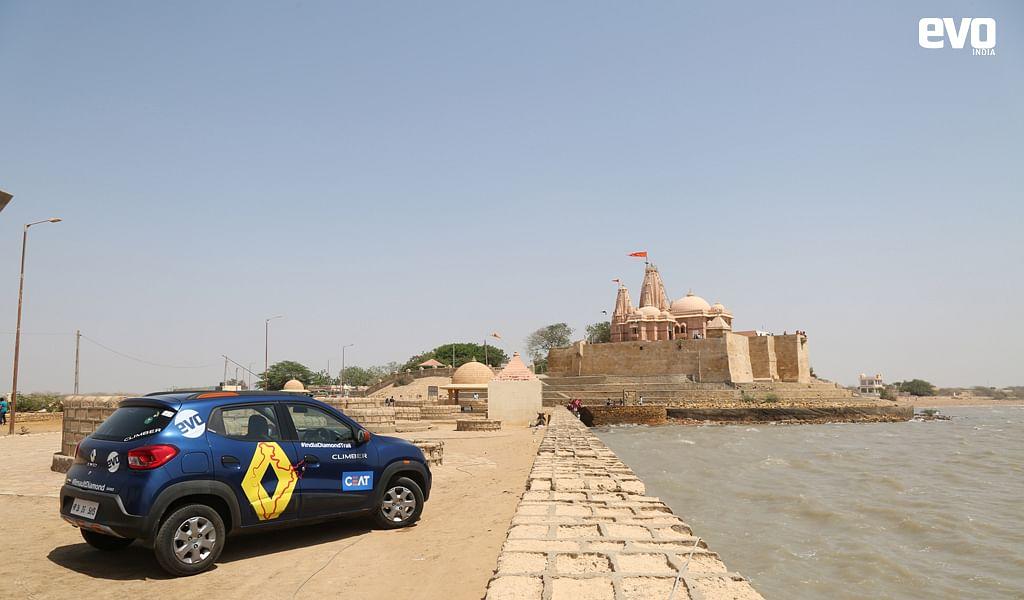 Renault Kwid at Kotteshwar