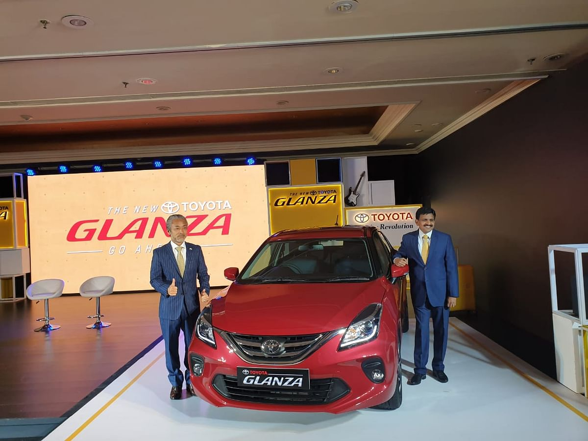 Toyota launches premium hatchback Glanza starting at Rs 7.21 lakh