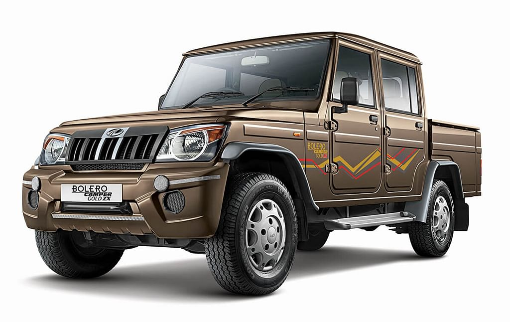 Mahindra launches the Camper range of Pickups