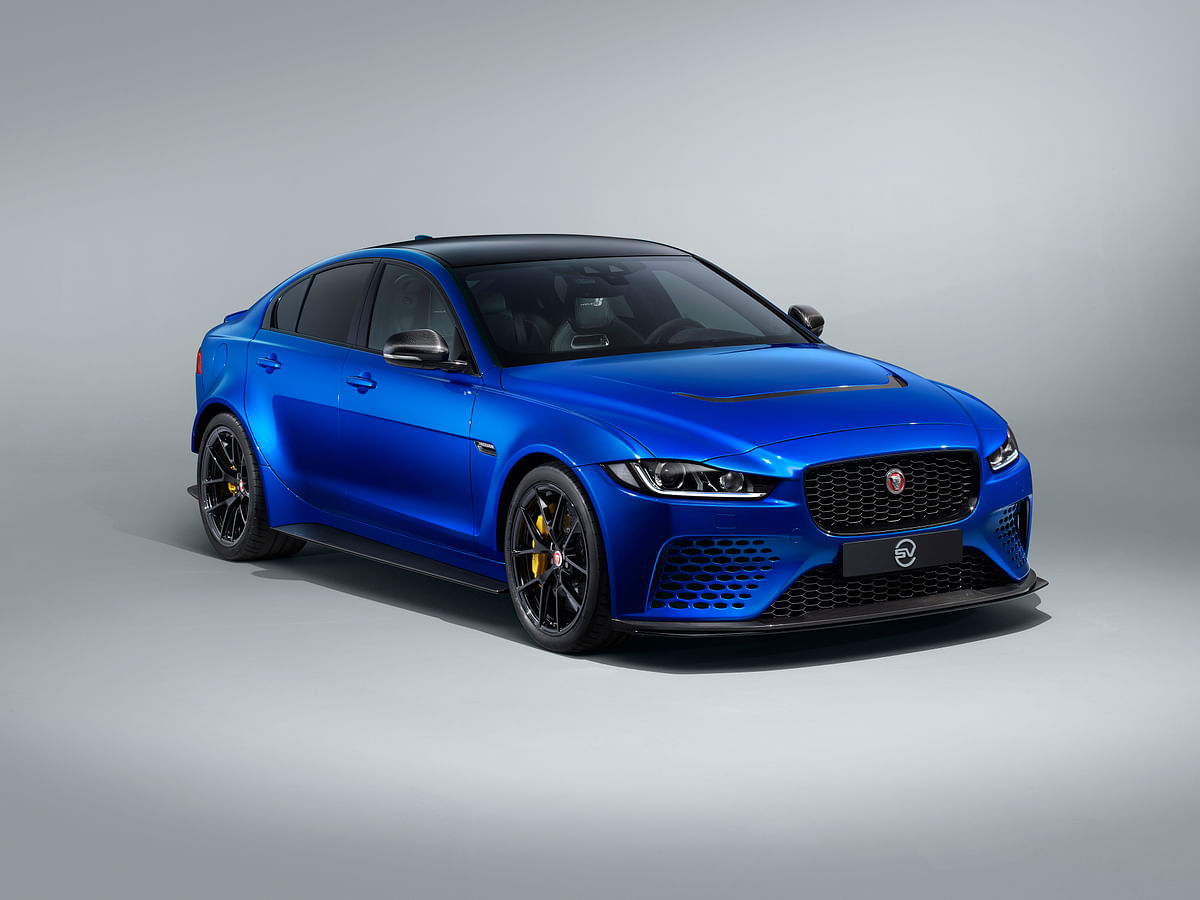 Jaguar XE SV Project 8 gets road-focussed specification with fixed spoiler and 300kmph top-speed