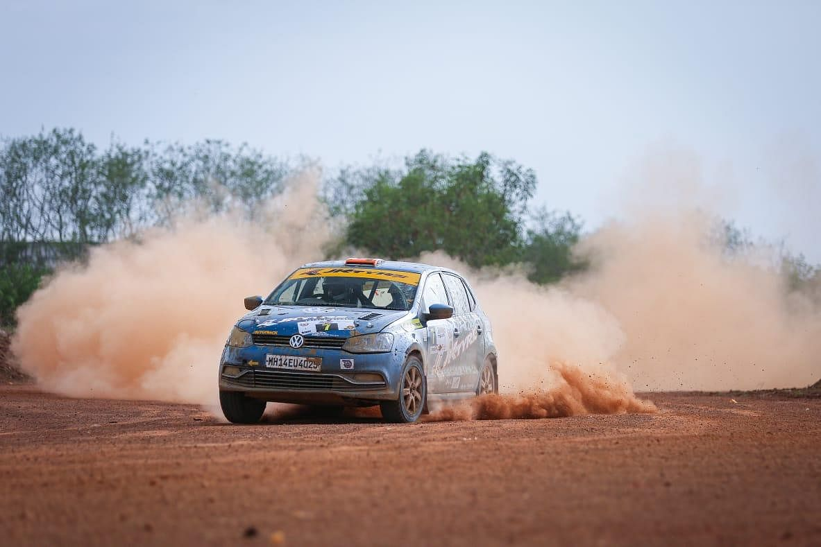 Team Champion's Dean Mascarenhas leads the 41st INRC – South India Rally