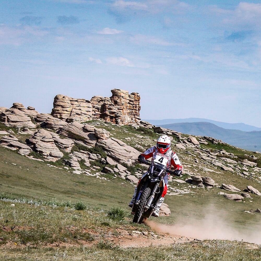 Silk Way Rally Day 5: Hero MotoSports Team Rally score second  podium