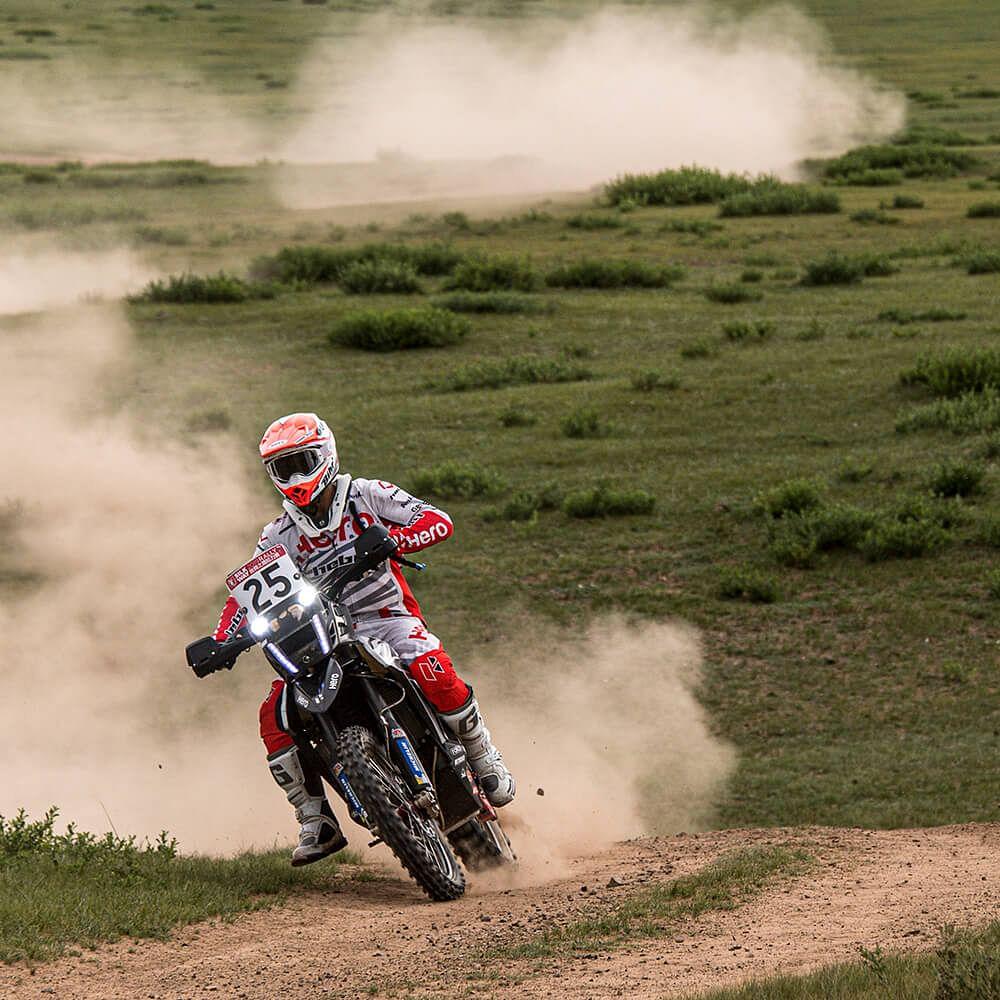 Silk Way Rally Day 4: Hero MotoSports Team Rally retain positions in top ten
