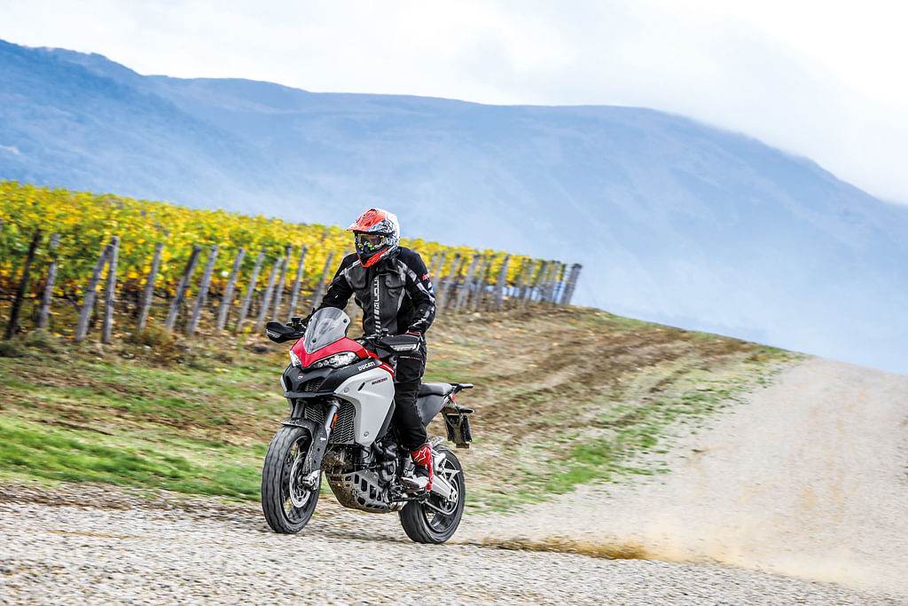 How does the newly launched Ducati Multistrada 1260 Enduro fare against the competition?