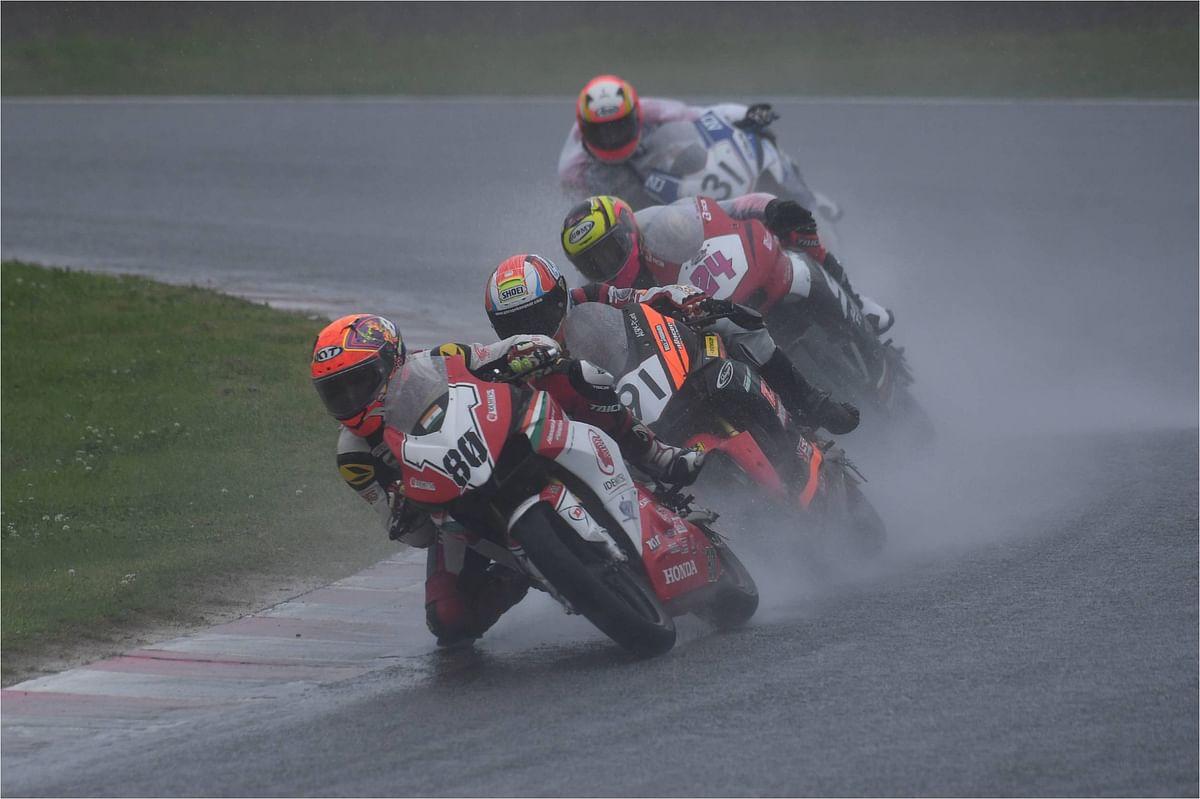 ARRC Round 4: Idemitsu Honda Racing riders Rajiv and Senthil score yet again