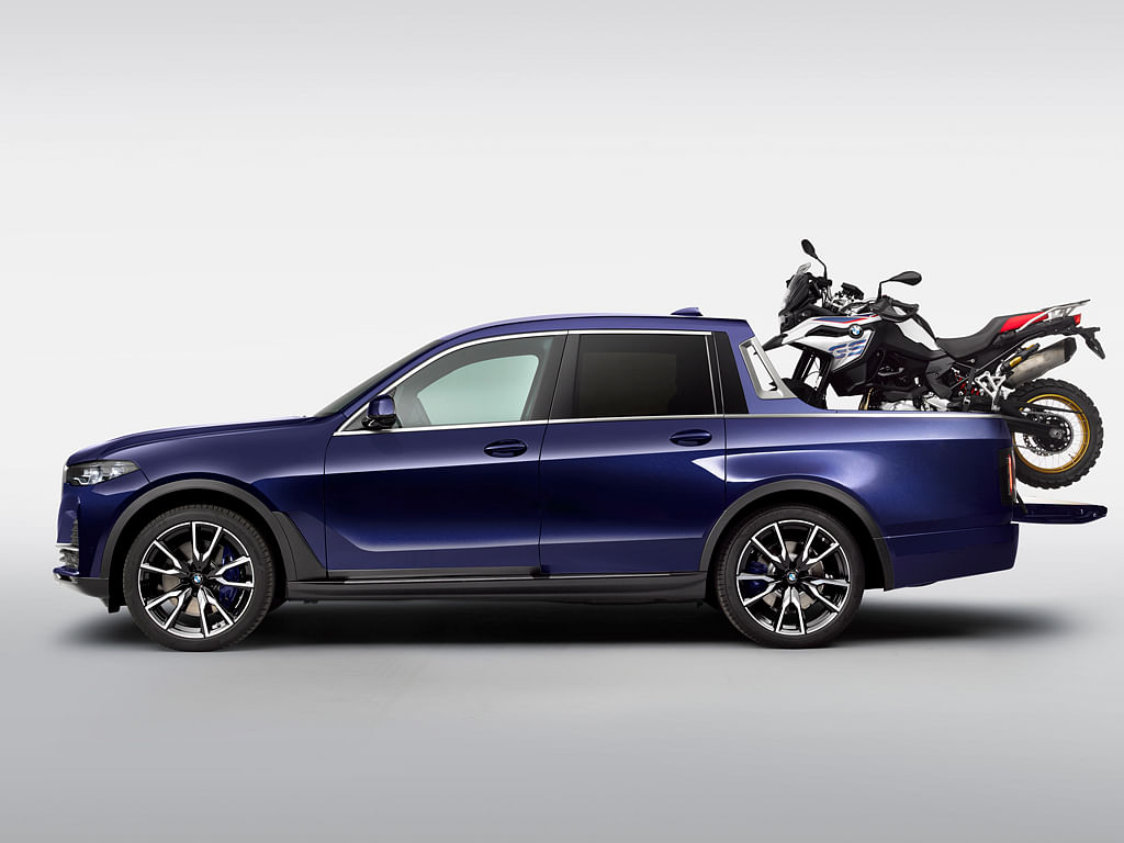 BMW X7 Pick-up concept showcased at BMW Motorrad Days