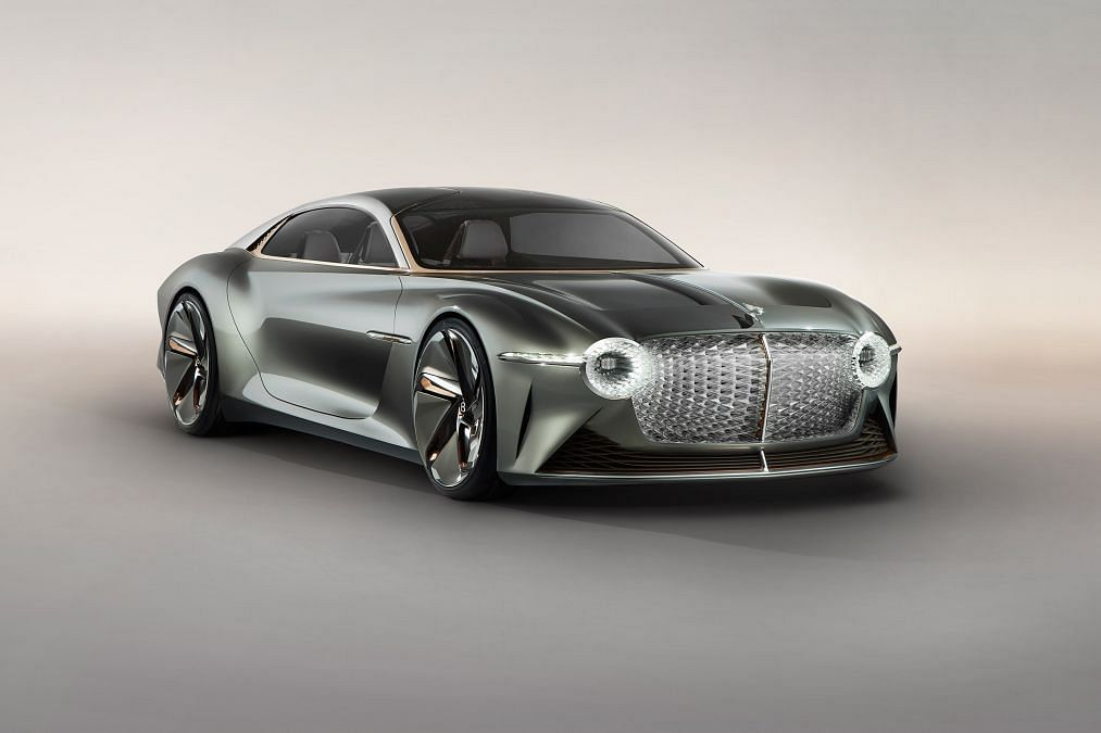 Bentley EXP 100 GT Concept reveals the brand's take on the future