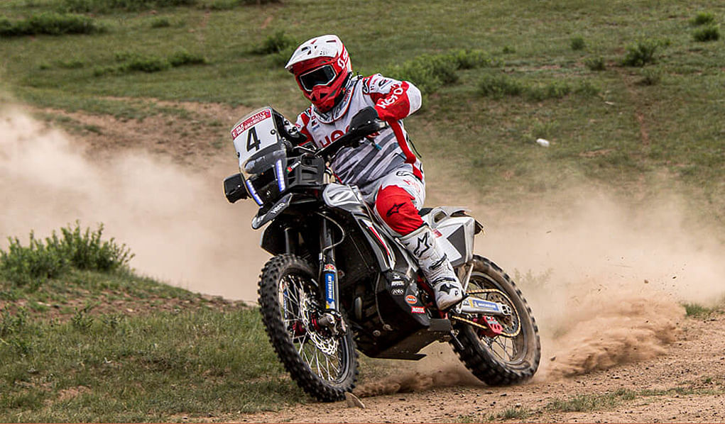 Silk Way Rally Day 4: Hero MotoSports Team Rally retain positions in top ten