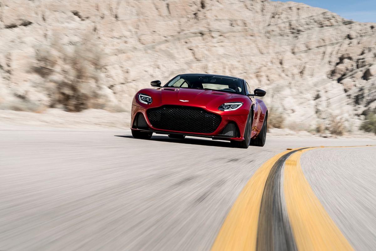 Aston Martin DBS Superleggera Volante review – lost roof adds enjoyment