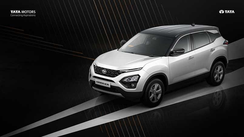 Dual-tone Tata Harrier launched at Rs 16.76 lakh