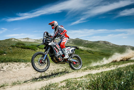 Silk Way Rally Day 3: Hero MotoSport Team Rally riders finish on eight and tenth postions