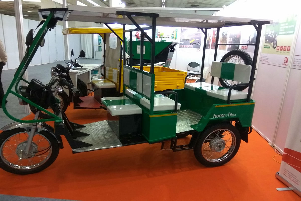 Lohia Auto showcases Eco-friendly mobility solutions for India