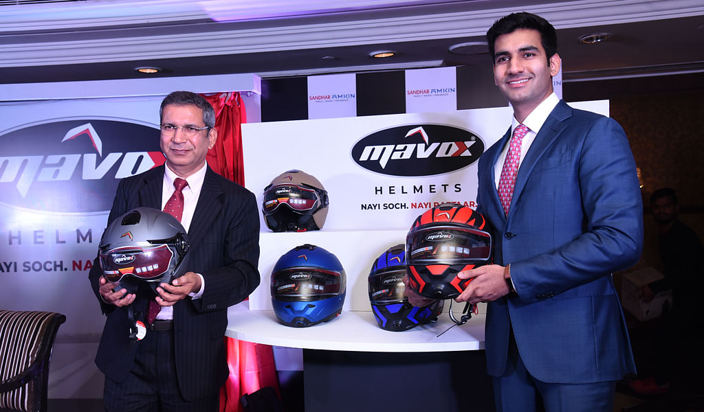 Sandhar Amkin Industries enters the market with Mavox helmets