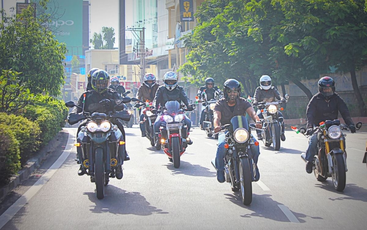 Triumph gears up for 'Ride for Freedom' with the Smile Foundation
