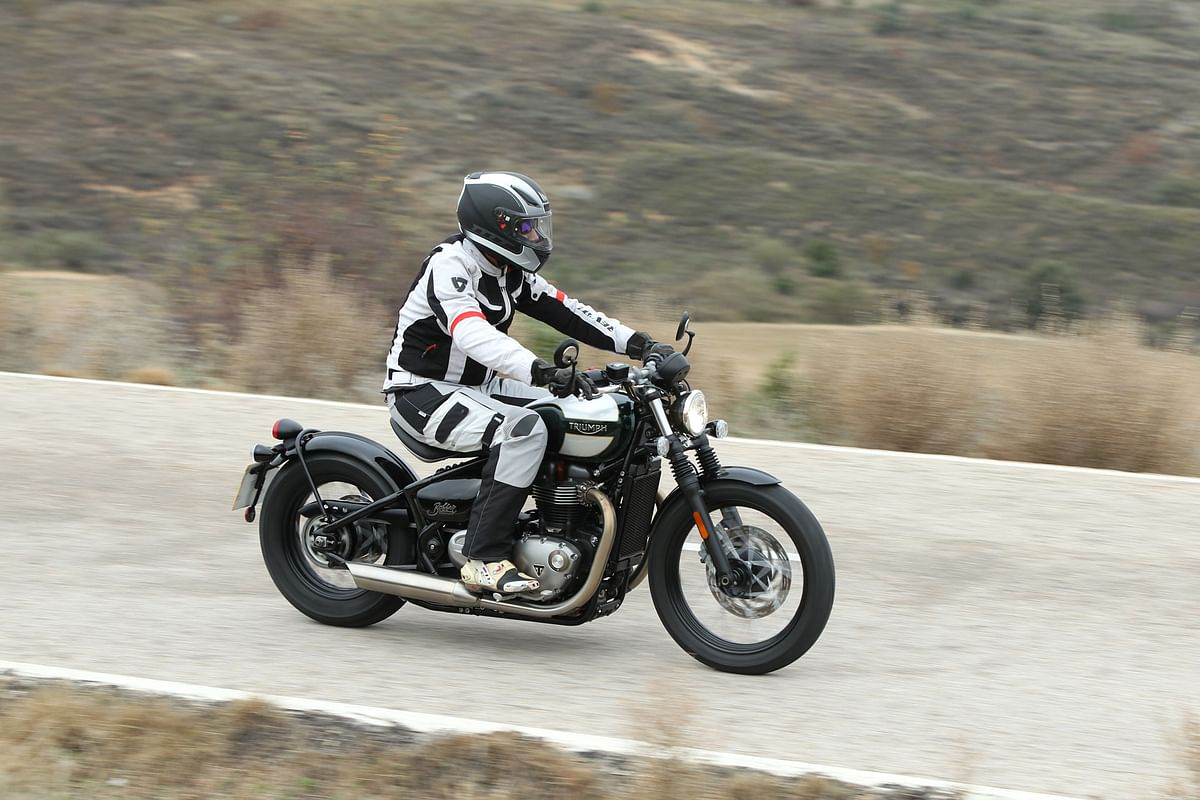 Triumph Bonneville Bobber launched!