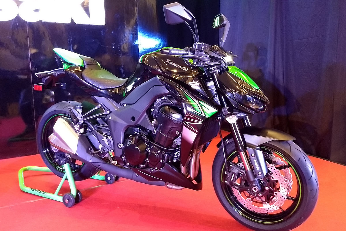 Updated Kawasaki Z1000 and Z250 launched