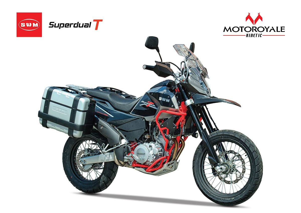 Motoroyale offers heavy discount on the SWM Superdual T
