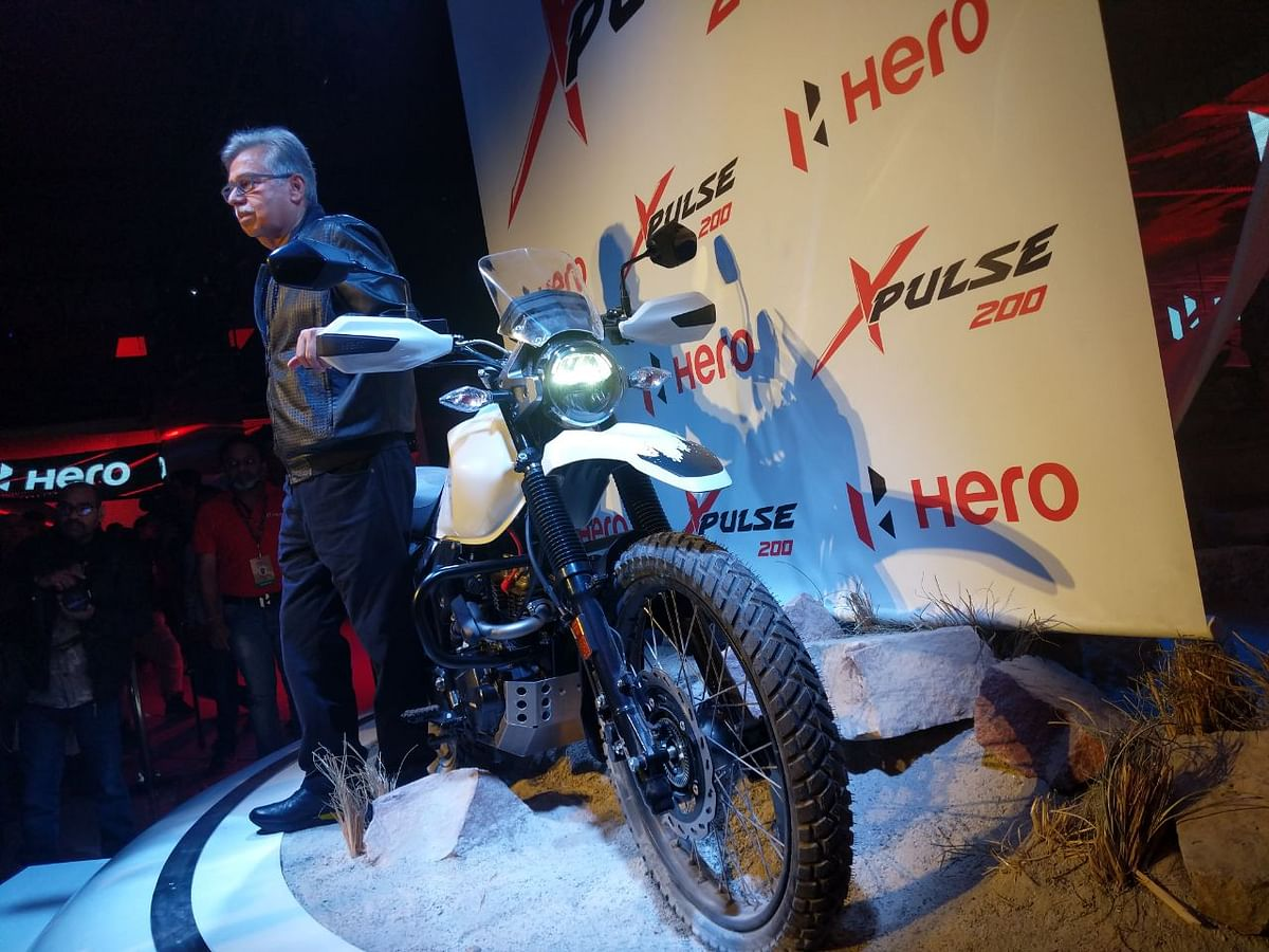 Auto Expo 2018: Hero unveils the XPulse 200