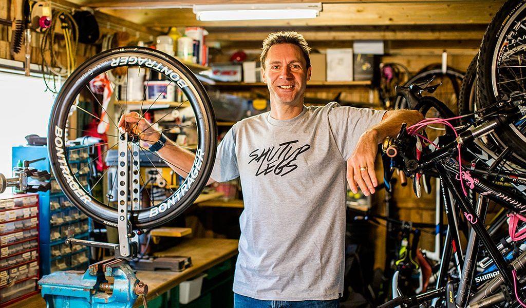 Jens Voigt, brand ambassador, Trek Bikes