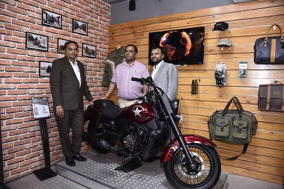 UM Motorcycles opens a new showroom in Ahmedabad