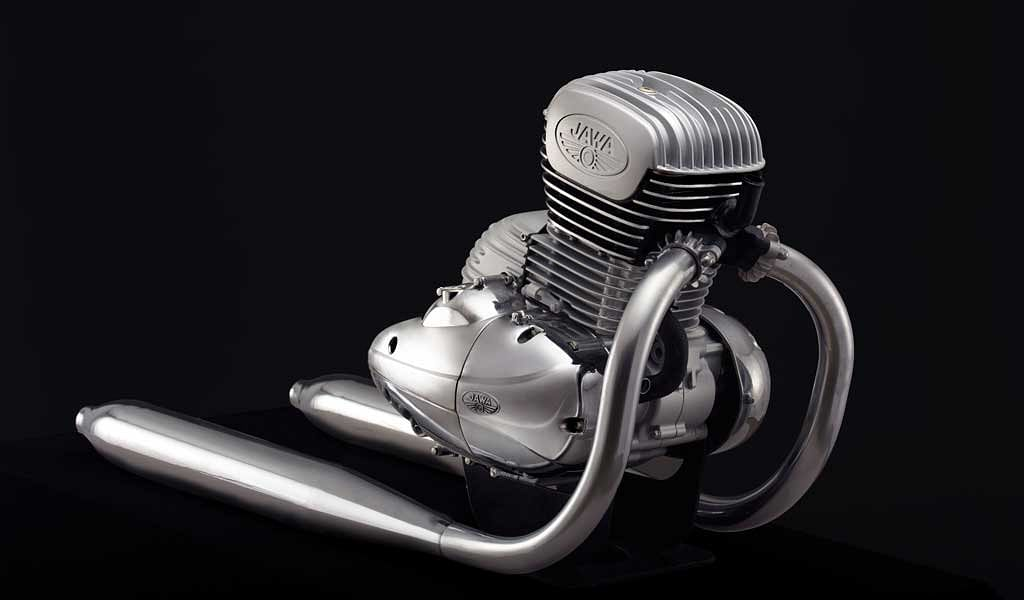 Classic Legends unveils engine which will power the new Jawa motorcycles