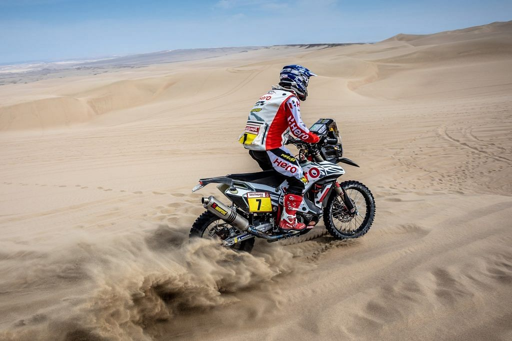Dakar 2019 stage 3: CS Santosh drops to 42nd place overall