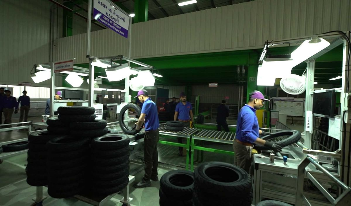Maxxis tyres inaugurates first plant in India