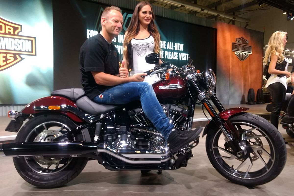New Harley-Davidson Sport Glide unveiled at EICMA 2017