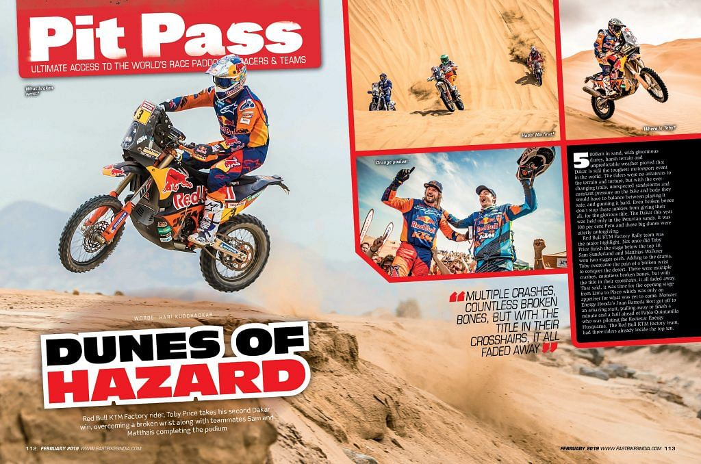 Fast Bikes India February issue, out on stands now!