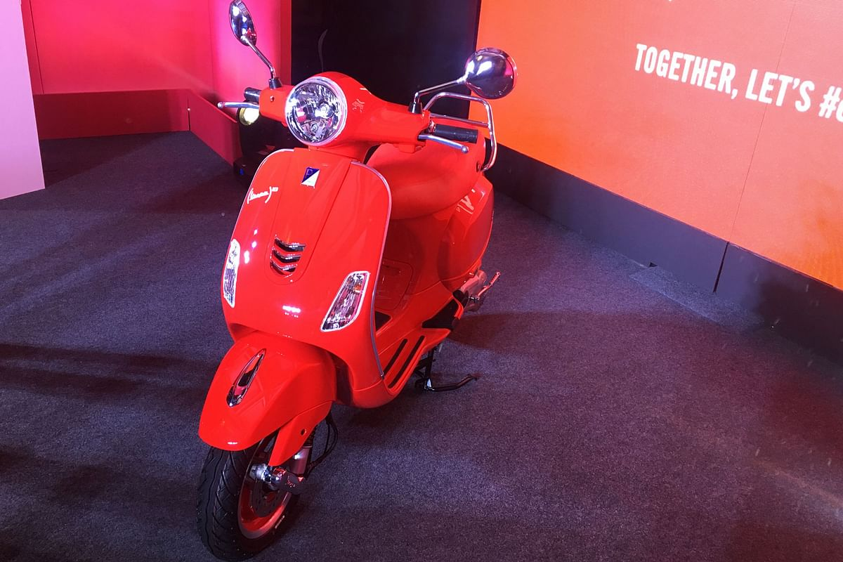 Piaggio launches the Vespa RED