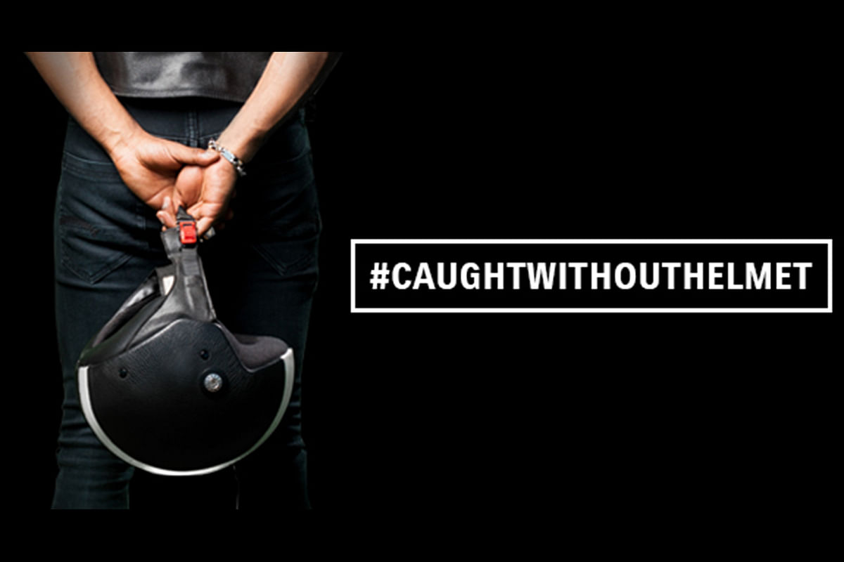 Suzuki launches do not get #CaughtWithoutHelmet campaign to promote helmet awareness