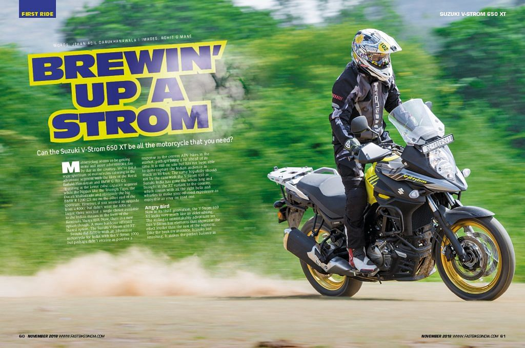 Fast Bikes India November 2018 Issue – on stands now!