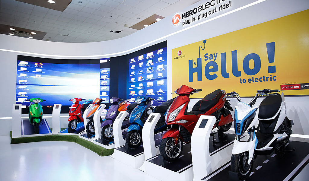 Auto Expo 2018: Hero Electric showcases eight new two-wheelers