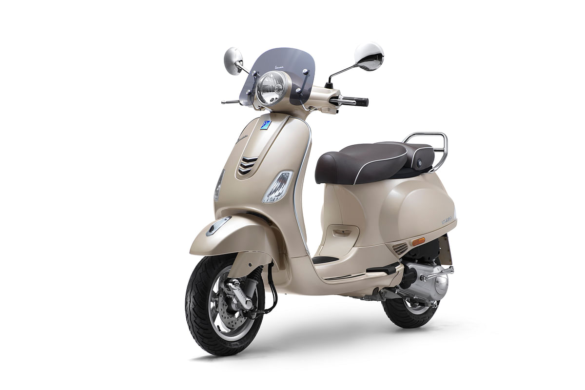Vespa Elegante launched at Rs 95,077