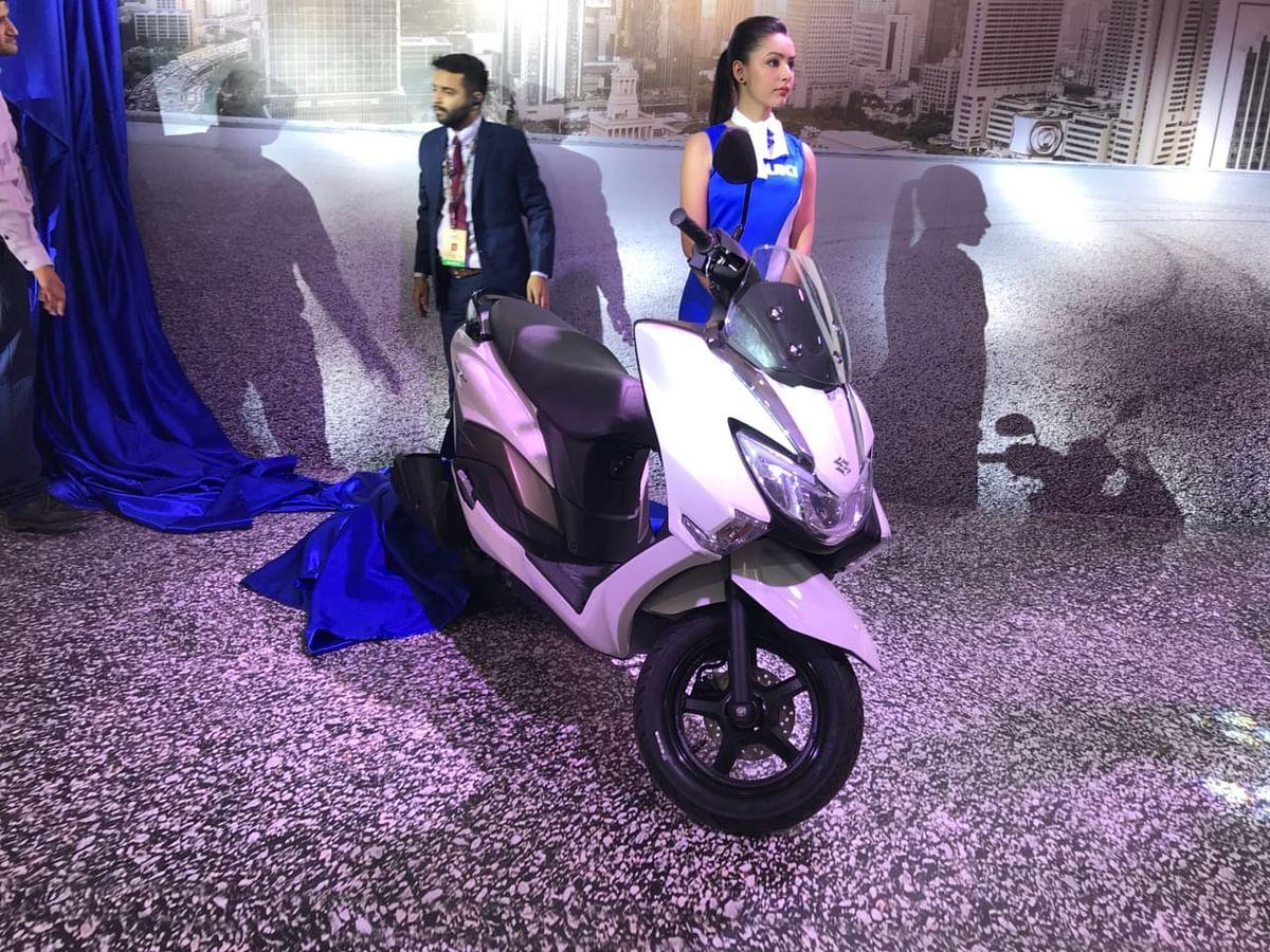 Auto Expo 2018: Suzuki unveils the Burgman Street