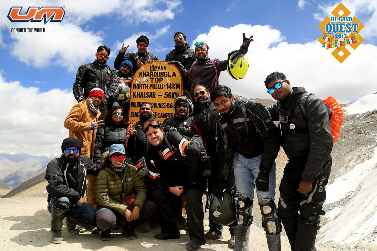 UM's Motorcycle club: ROAR, concludes its first motorcycle tour to Ladakh