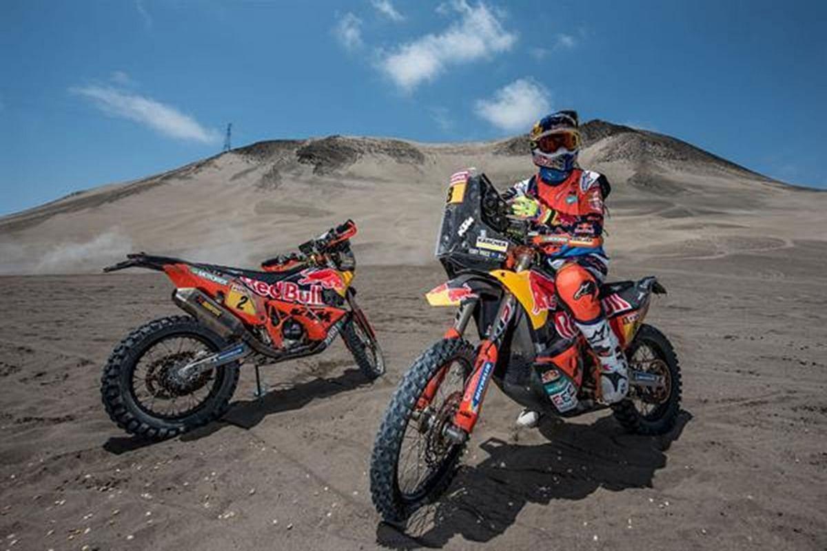 KTM sets eyes on Dakar 2018