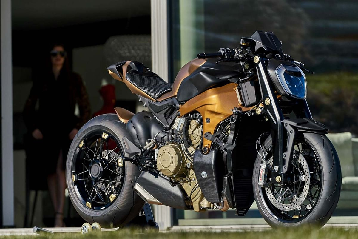 Italian design house creates one-off streetfighter based on Ducati Panigale V4
